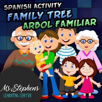 Spanish - Family Tree Activity - Arbol Familiar