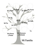 Spanish Family Tree - Mi Familia