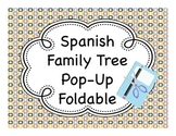 Spanish Family Tree Pop-Up Fold-It