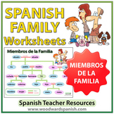 Spanish Family Tree Worksheets
