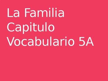Spanish Family Vocab