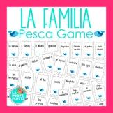 Spanish Family Vocabulary Pesca Game | La Familia Go Fish Game