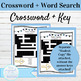 Spanish Family Vocab Word Search and Crossword With Answer Keys: Entre Familia
