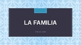 Spanish Family Vocabulary PowerPoint Review