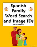 Spanish Family and Pets Word Search and Vocabulary - La Familia