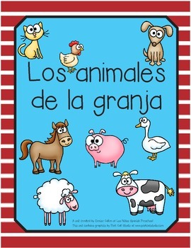 Spanish Farm Animals Unit