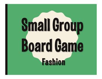 Spanish Fashion Board Game