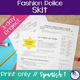 Spanish Fashion Police Clothing Skit