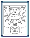 Spanish Father's Day- Students Make a Father's Day Trophy Card- Dia del Padre