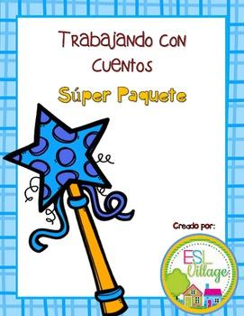 In Spanish / Favorite Tales BUNDLE {Cuentos Súper Paquete}