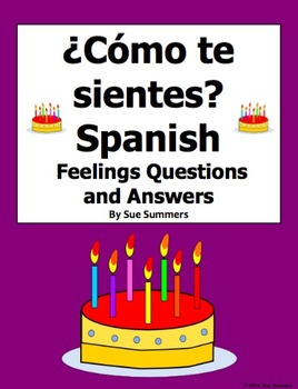 Spanish Feelings 12 Question Responses and Image IDs - Sen