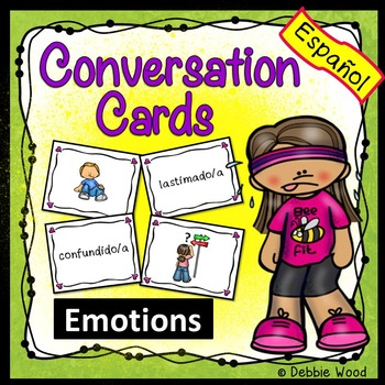 Spanish Conversation Cards Feelings