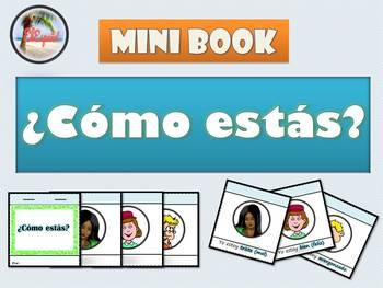 Spanish Feelings / Emotions Mini Book