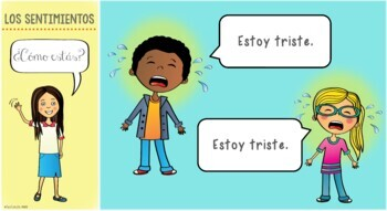 Spanish Feelings / Emotions PowerPoint