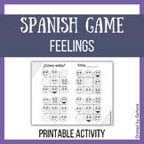 Spanish Feelings Game--Tic Tac Toe / Tres en Línea