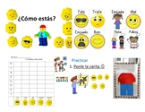 Spanish Feelings PPT and activities included