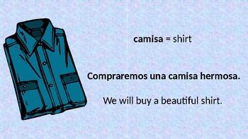 Spanish Feminine Nouns ending in a