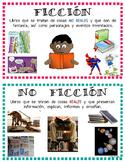 Spanish Ficción/No Ficción Posters or Labels
