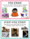 English Fiction/Non-Fiction Posters or Labels