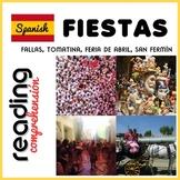 Spanish Fiestas - Fiestas españolas - Reading Comprehensio