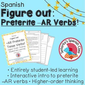 Spanish - Figure Out: -AR Preterite Tense Verbs