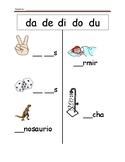 Spanish Fill the Blank (da de di do du)