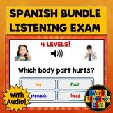 Spanish Final Exam, Spanish Listening Exam, Spanish Boom C