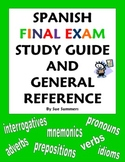 Spanish Final Exam Study Guide & General Reference - 30+ Topics!