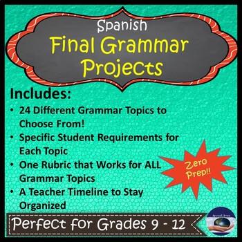 Spanish - Final Grammar Project