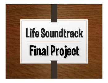 Spanish Final Project:  Life Soundtrack