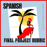 Spanish Final Project Rubric