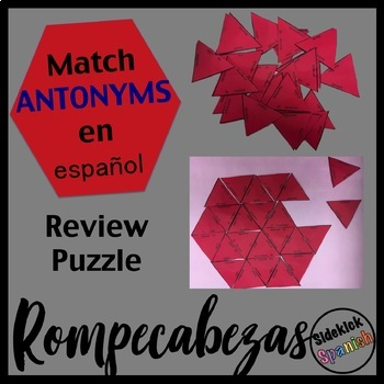 Spanish Final Vocabulary Review - Antonyms (Asi Se Dice le