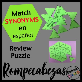 Spanish Final Vocabulary Review - Synonyms (Asi Se Dice le