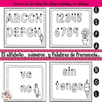 Spanish Worksheets -  for the Dual Language & Bilingual Classroom