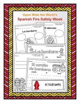 Spanish Fire Safety Week - la semana de seguridad contra incendios
