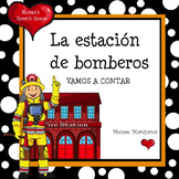 Spanish Fireman Counting Book ELL/ESL