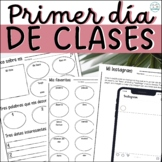 Spanish First Day of School Activities - Back to School