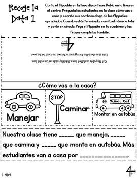 Spanish First Grade Math Interactive Notebook Bundle