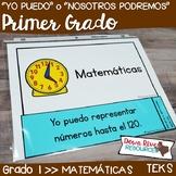 Spanish First Grade Math TEKS I Can Statements | Yo Puedo