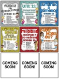 Spanish First Grade Math Units 10-18 Bundle