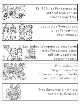 Spanish - First Thanksgiving