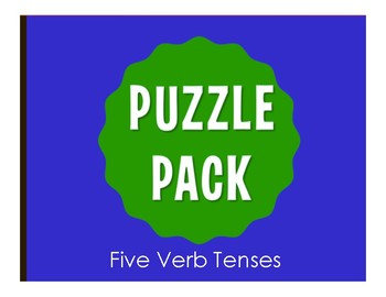 Spanish Five Verb Tense Review Stations