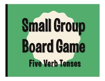 Spanish Five Verb Tenses Board Game