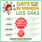 Spanish Flash Cards - Days of the Week - Los días de la semana