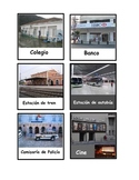 "Spanish  Flash Cards ""La calle"" local area, other towns an"