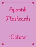 Spanish Flashcard Game- Colors