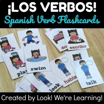 Spanish Flashcard Learning Bundle - ¡Aprendemos Español!