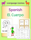 Spanish Parts of the Body - El Cuerpo