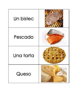 Spanish Flashcards: Miscellaneous Food