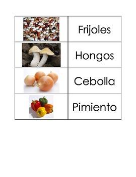Spanish Flashcards: Vegetables